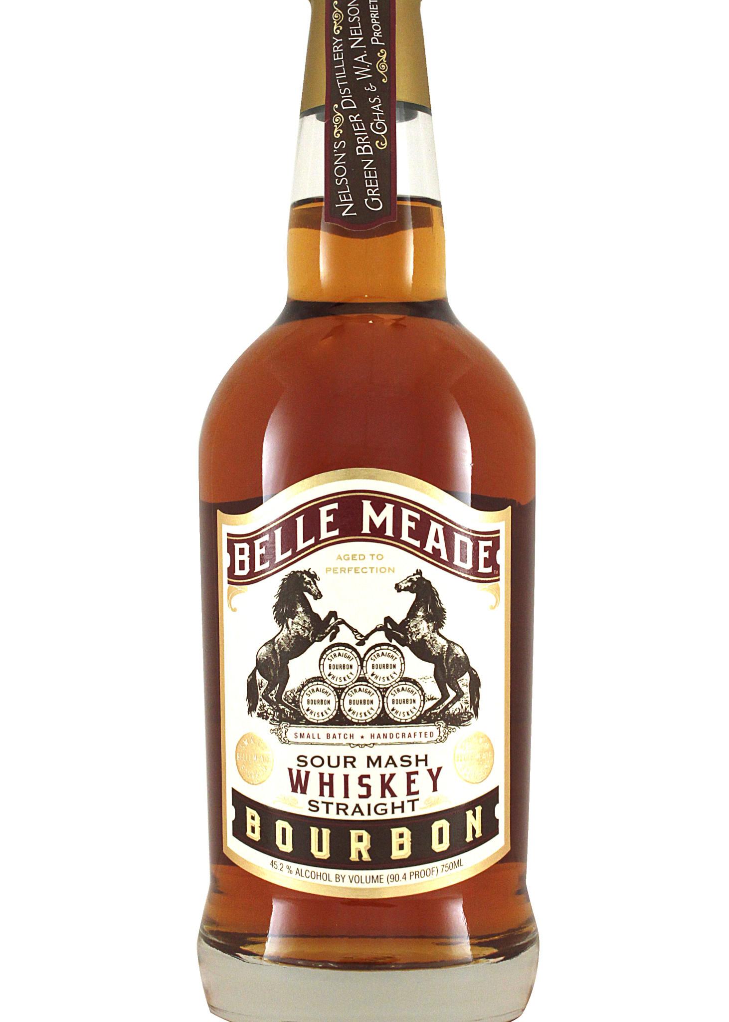 Belle Meade Sour Mash Straight Bourbon Whiskey, Nashville, Tennessee