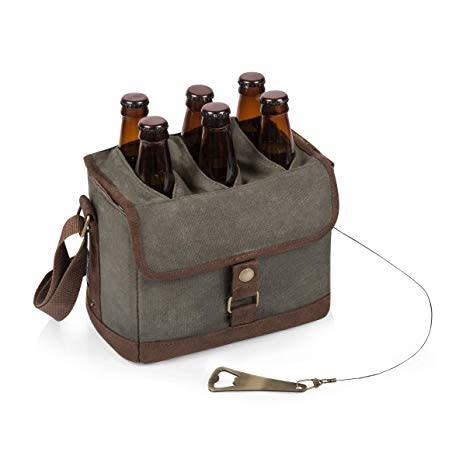 Picnic Time Beer Caddy with Opener