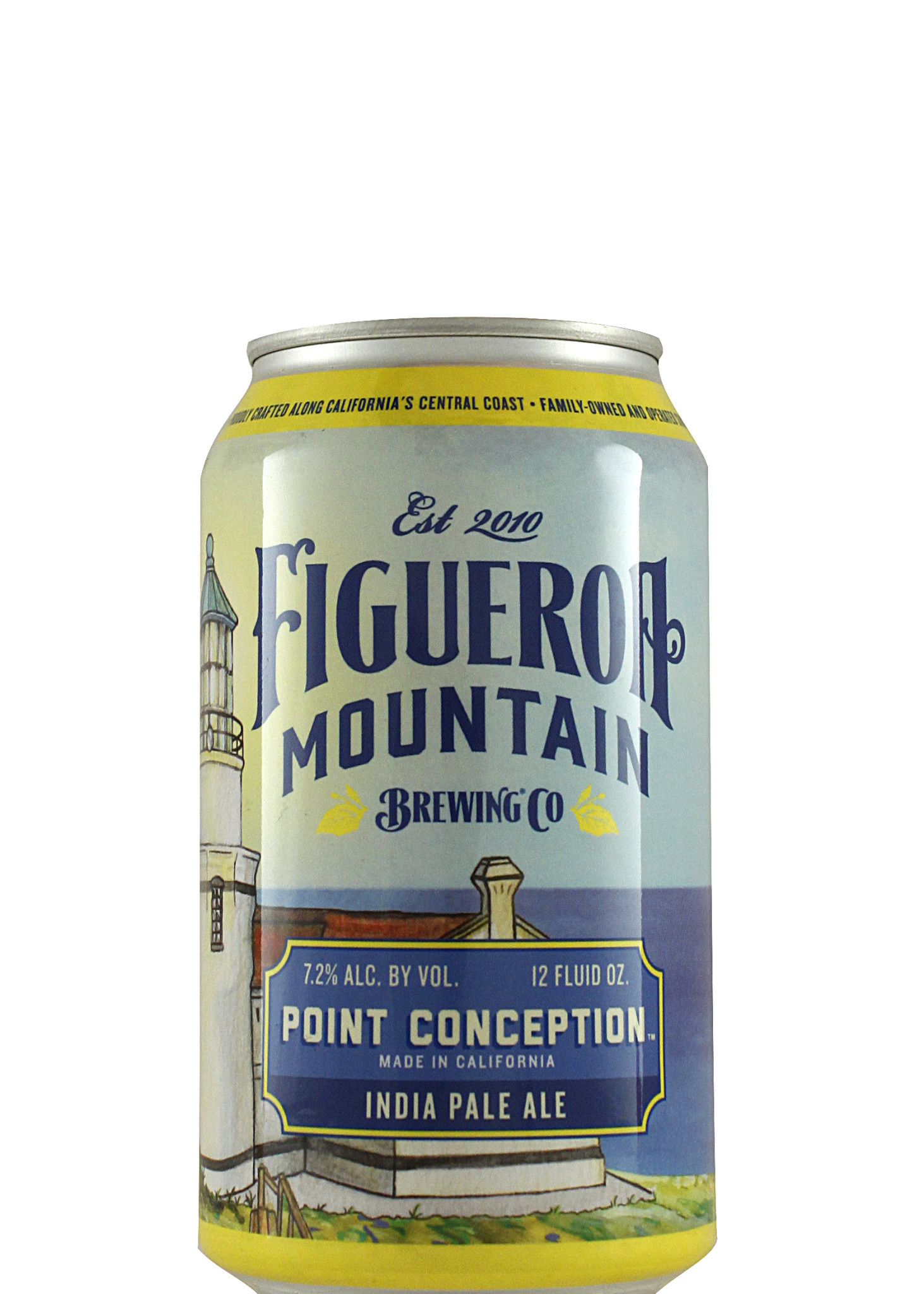 "Figueroa Mountain ""Point Conception"" India Pale Ale 12oz Can - Buellton CA"