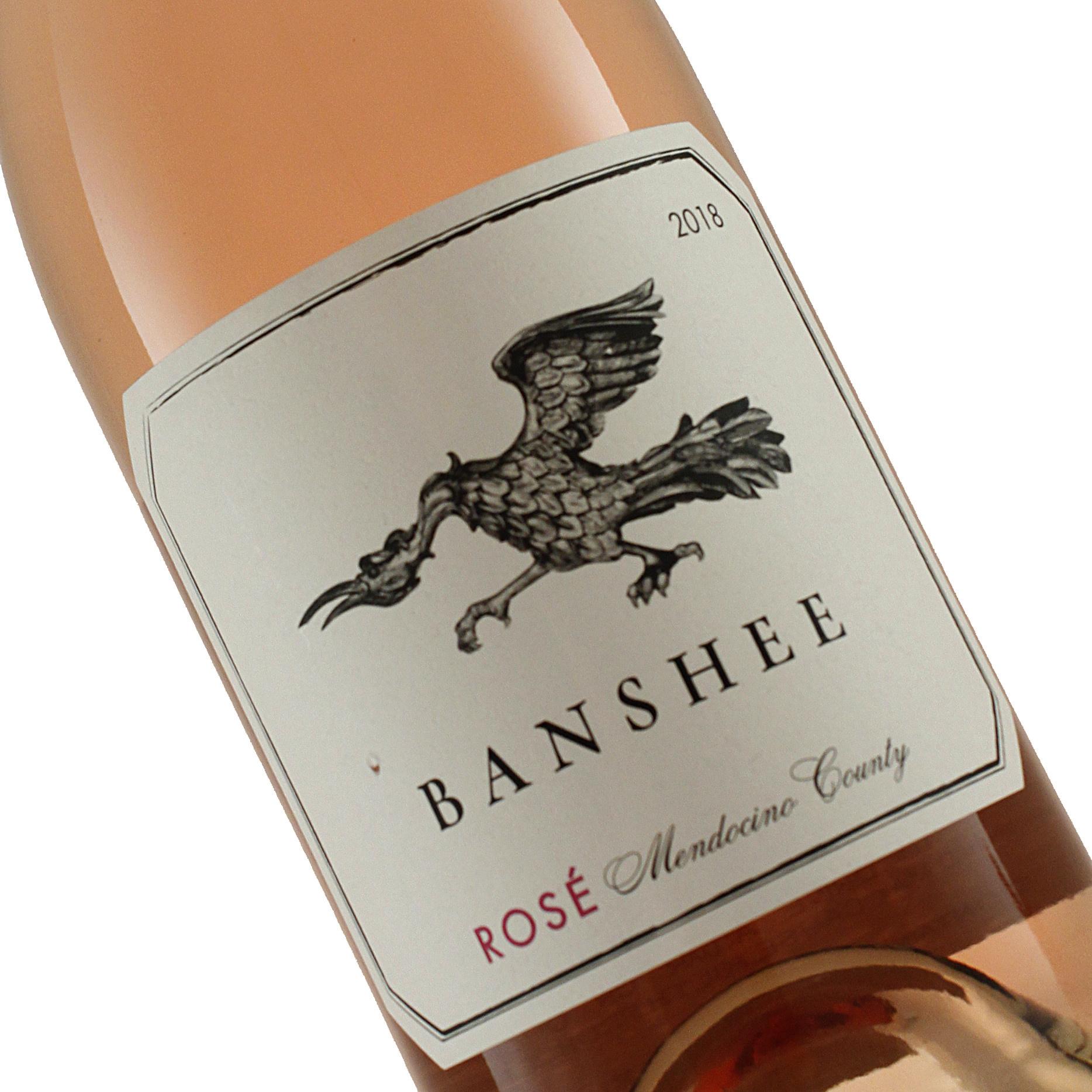 Banshee 2018 Rose, Mendocino County