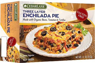 CedarLane Three Layer Enchilada Pie, Gluten Free