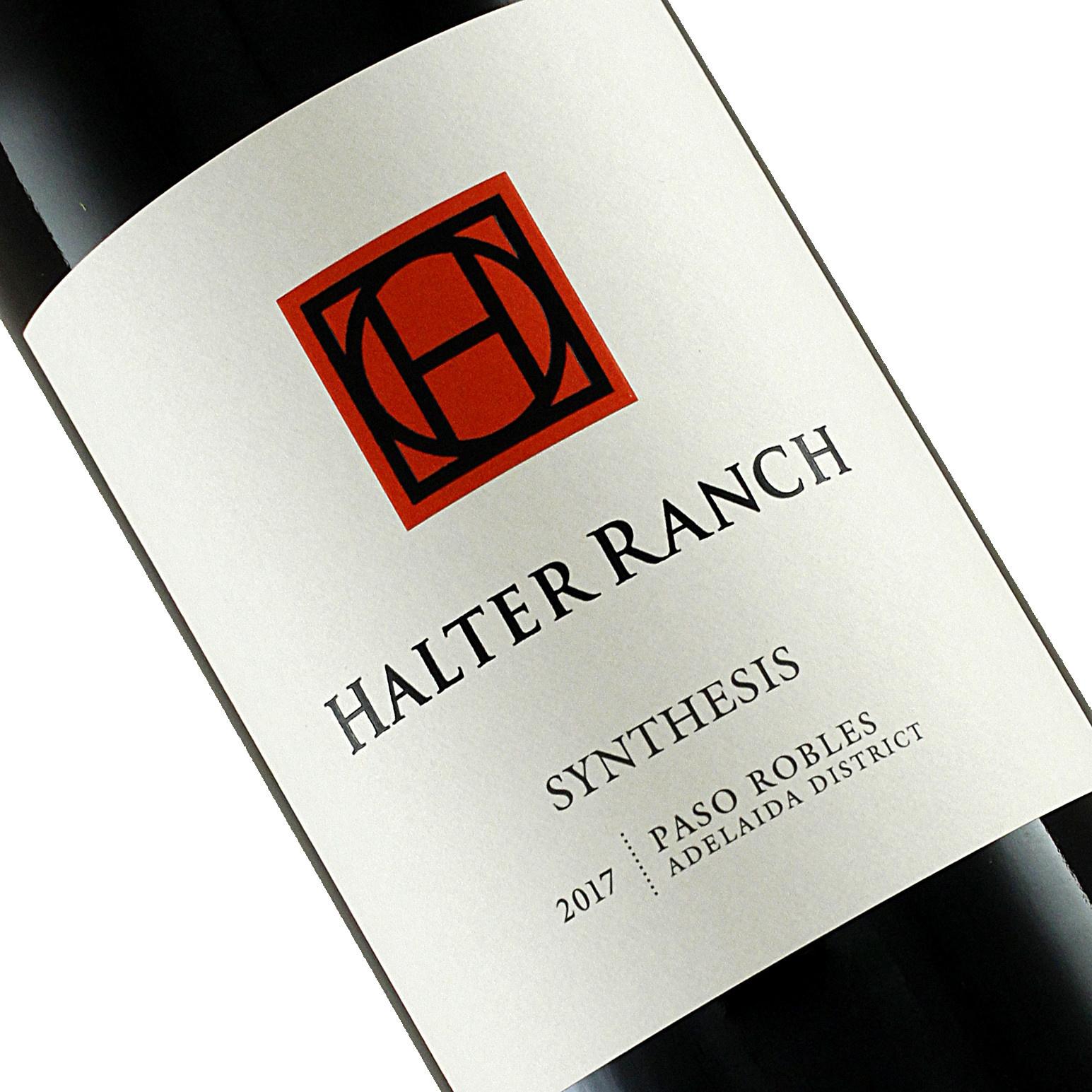 """Halter Ranch 2017 Cabernet Sauvignon """"Synthesis"""" , Adelaida Districc, Paso Robles"""