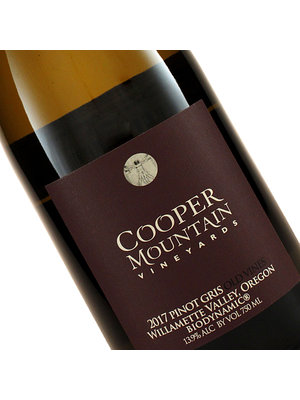 Cooper Mountain 2019 Pinot Gris Old Vines Willamette Valley, Oregon