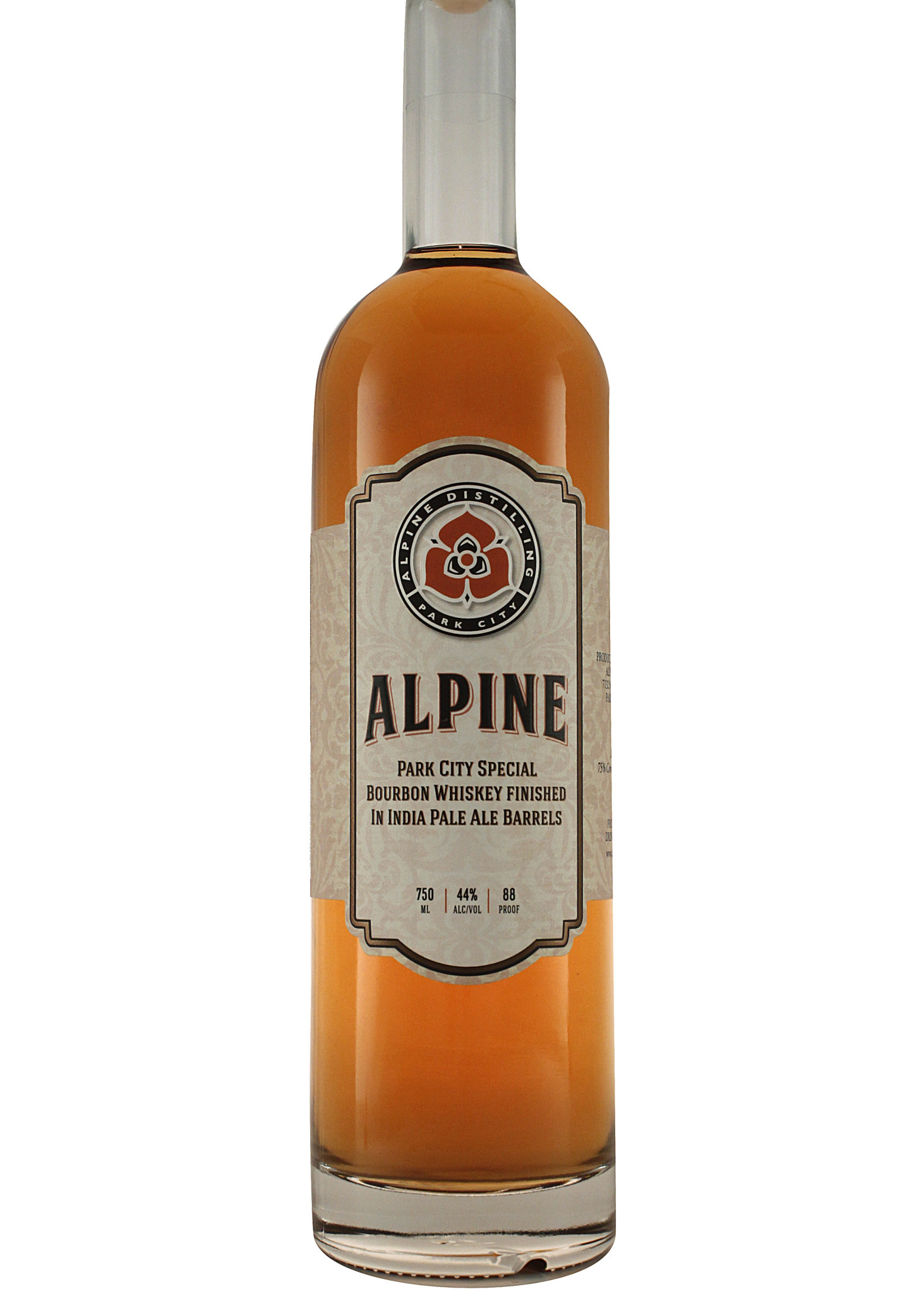 Alpine Distilling Park City Special Bourbon Whiskey Finished in IPA Barrels Park City, Utah