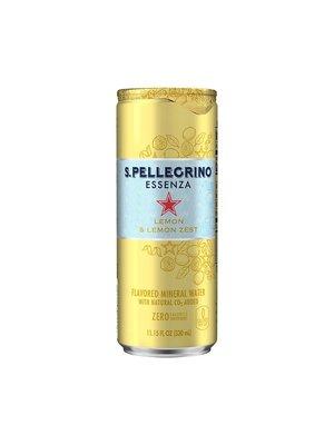 San Pellegrino Essenza Lemon & Lemon Zest 330ml