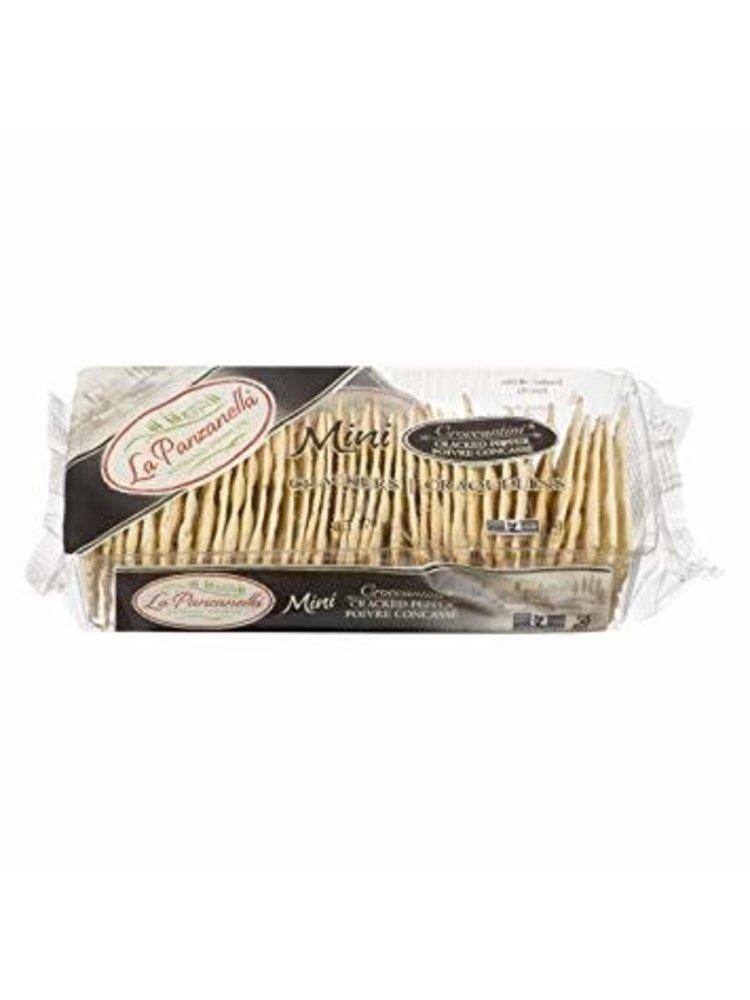 La Panzanella Black Pepper Mini Crackers 6 oz.