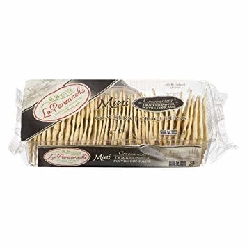 La Panzanella Black Pepper Mini Crackers 6 oz.