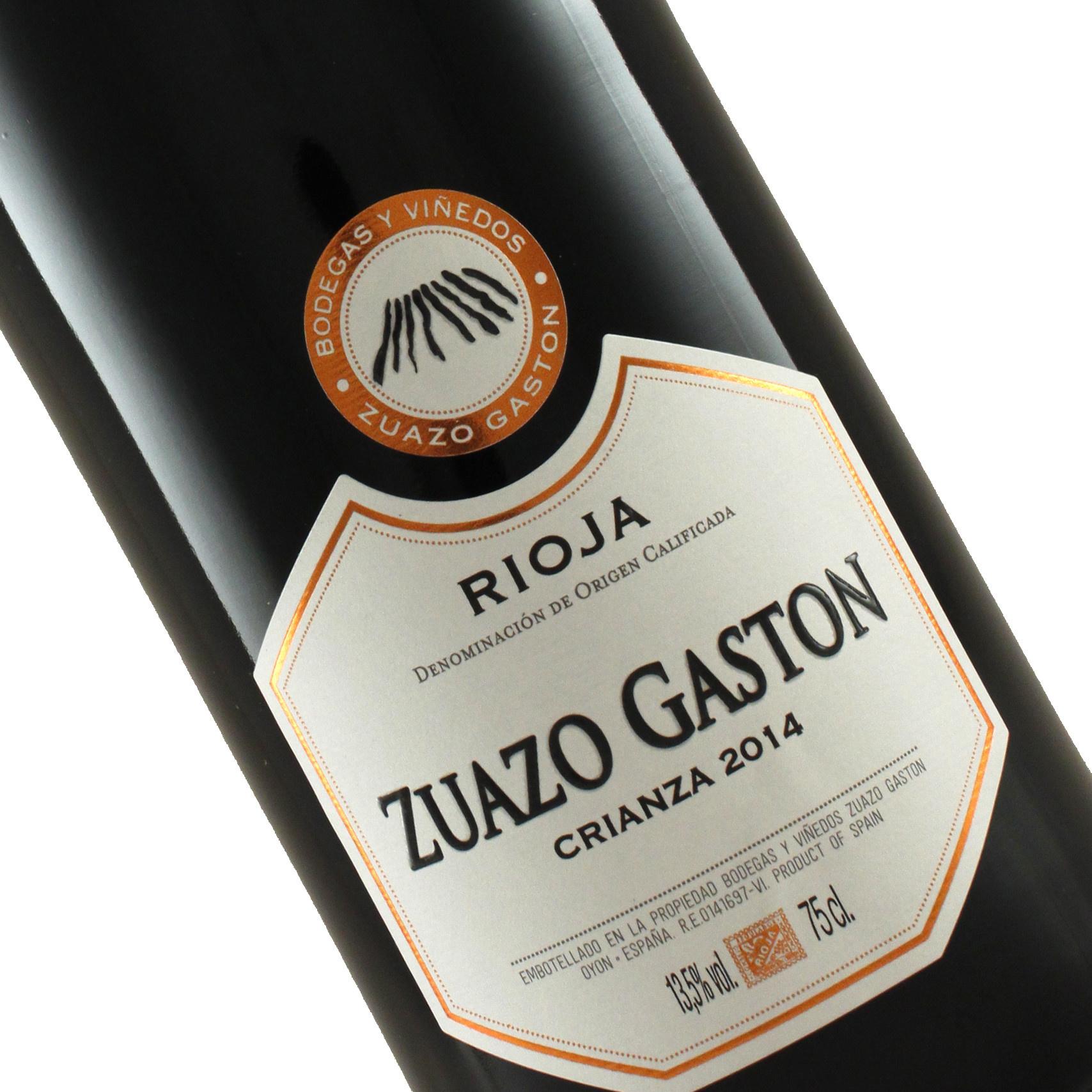 Zuazo Gaston 2014 Rioja Crianza