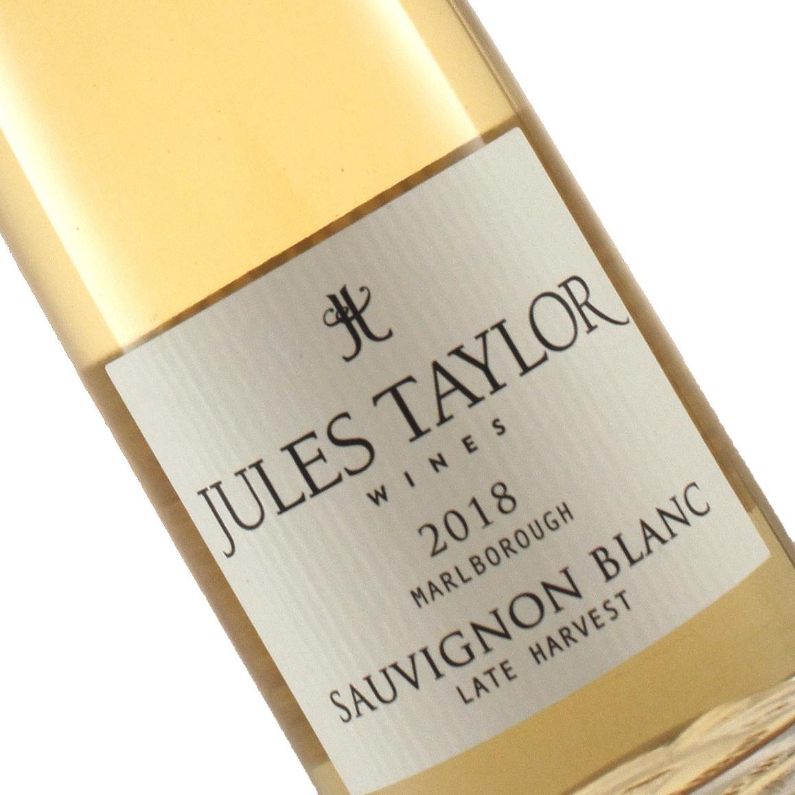 Jules Taylor 2018 Sauvignon Blanc Late Harvest Marlborough, New Zealand - Half Bottle