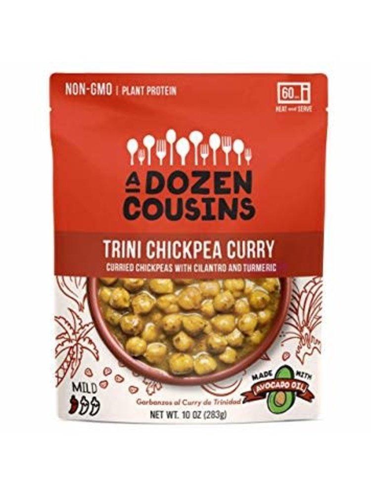 A Dozen Cousins Trini Chickpea Curry with Onion, Garlic and Spices, 10 oz., Berkeley, California