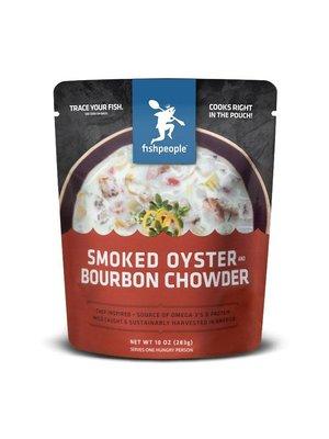 Fishpeople Smoked Oyster and Bourbon Chowder 10oz. Portland, Oregon