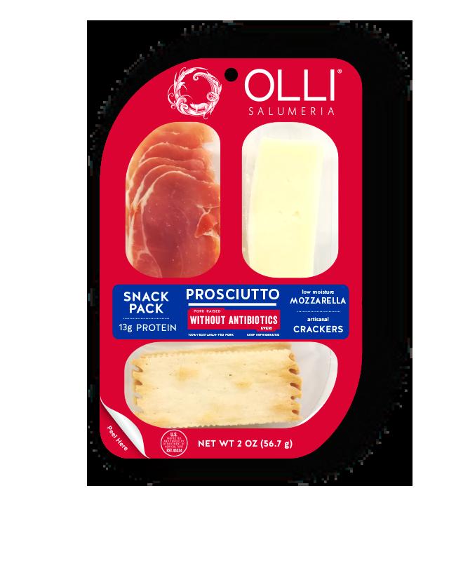 Olli Prosciutto Mozzarella Snack Pack 2oz. Oceansice, CA