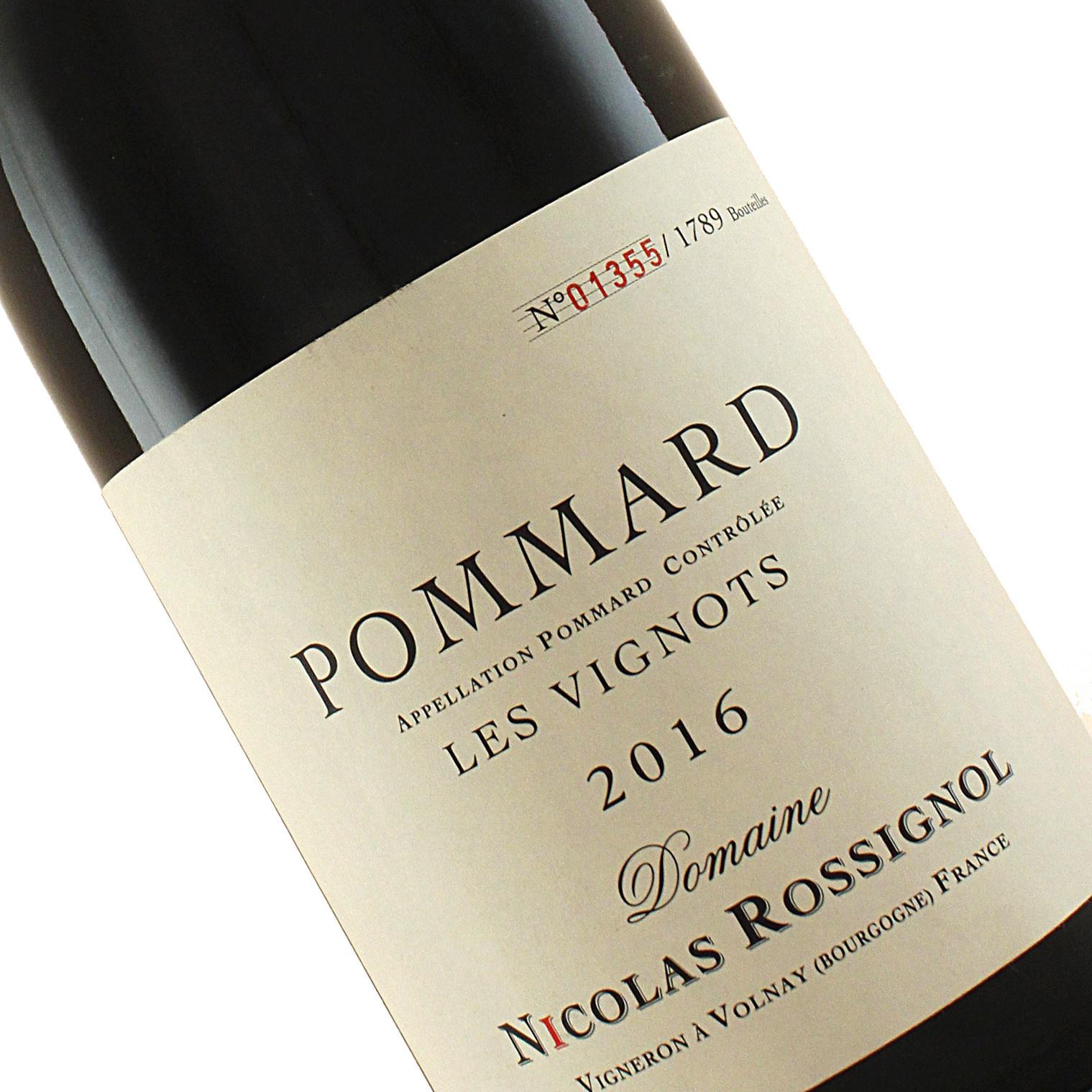 "Domaine Nicolas Rossignol 2016 Pommard ""Les Vignots"" , Burgundy"