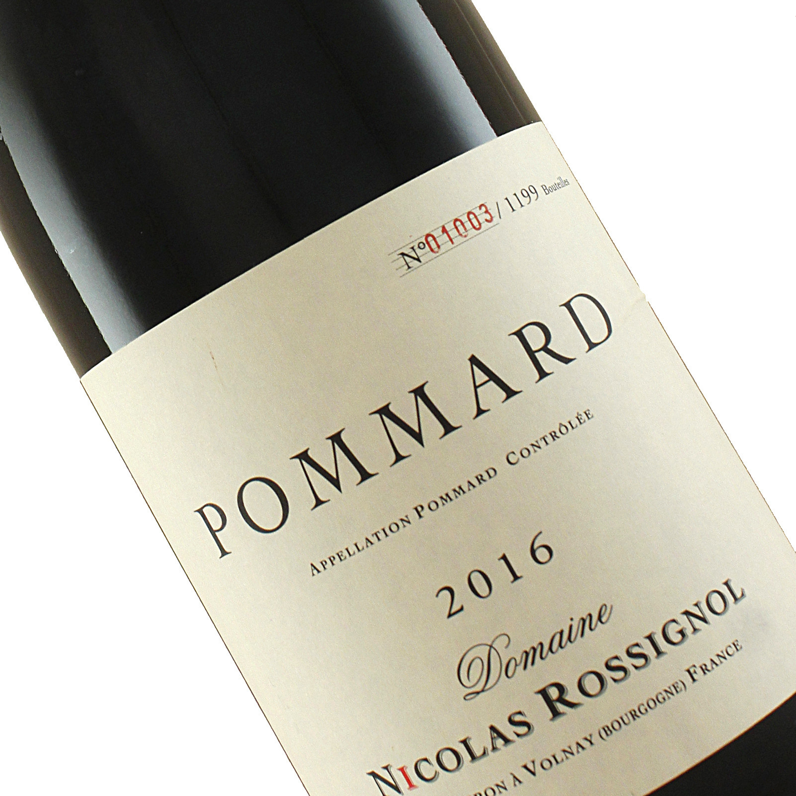 Domaine Nicolas Rossignol 2016 Pommard 1er Cru, Burgundy