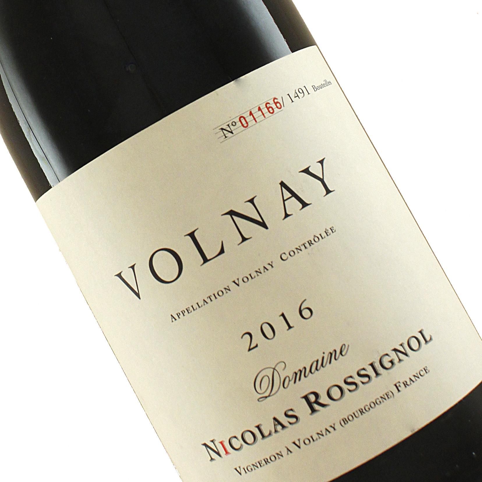 Domaine Nicolas Rossignol 2016 Volnay, Burgundy