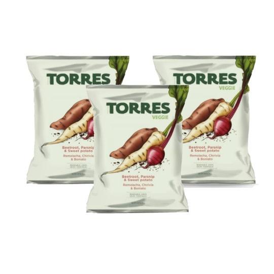 Torres Veggie Chips 3.17oz., Spain