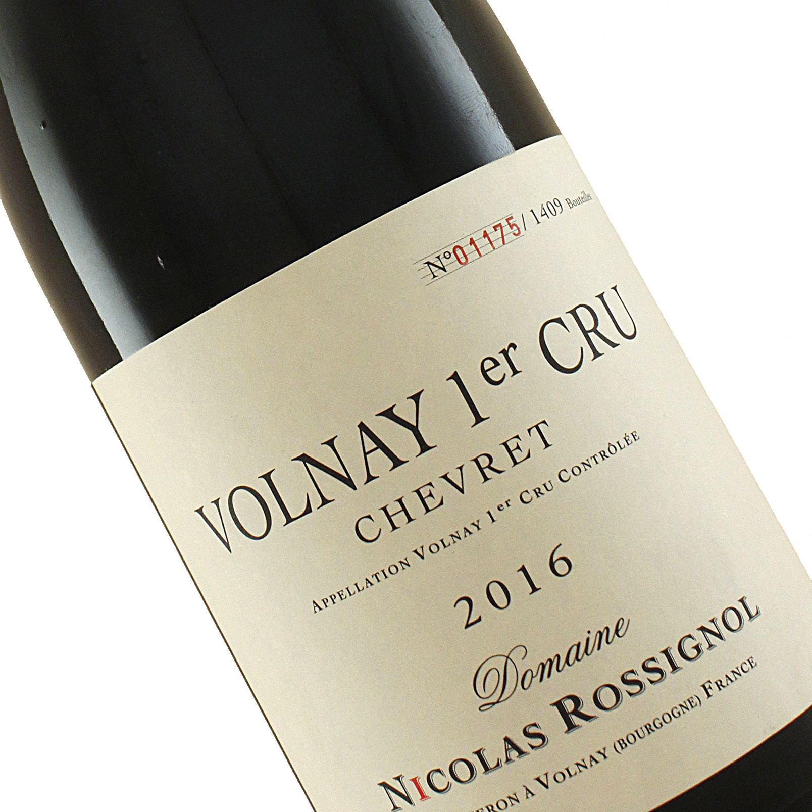 "Domaine Nicolas Rossignol 2016 Volnay 1er Cru ""Chevret"", Burgundy"