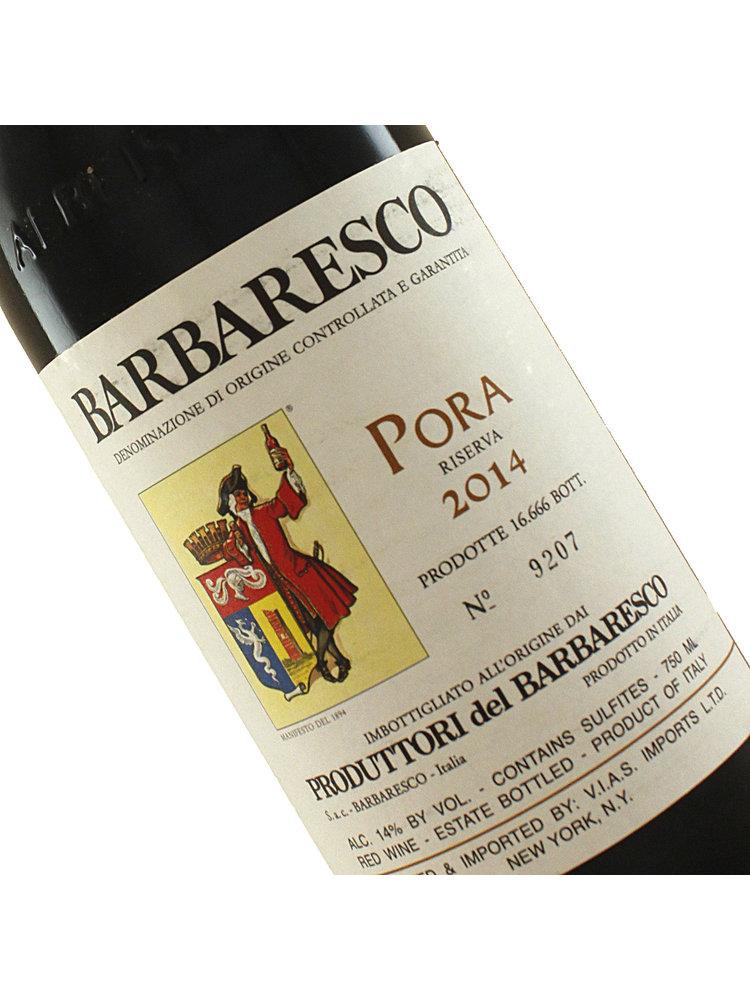 Produttori del Barbaresco 2014 Barbaresco Riserva Pora, Piedmont