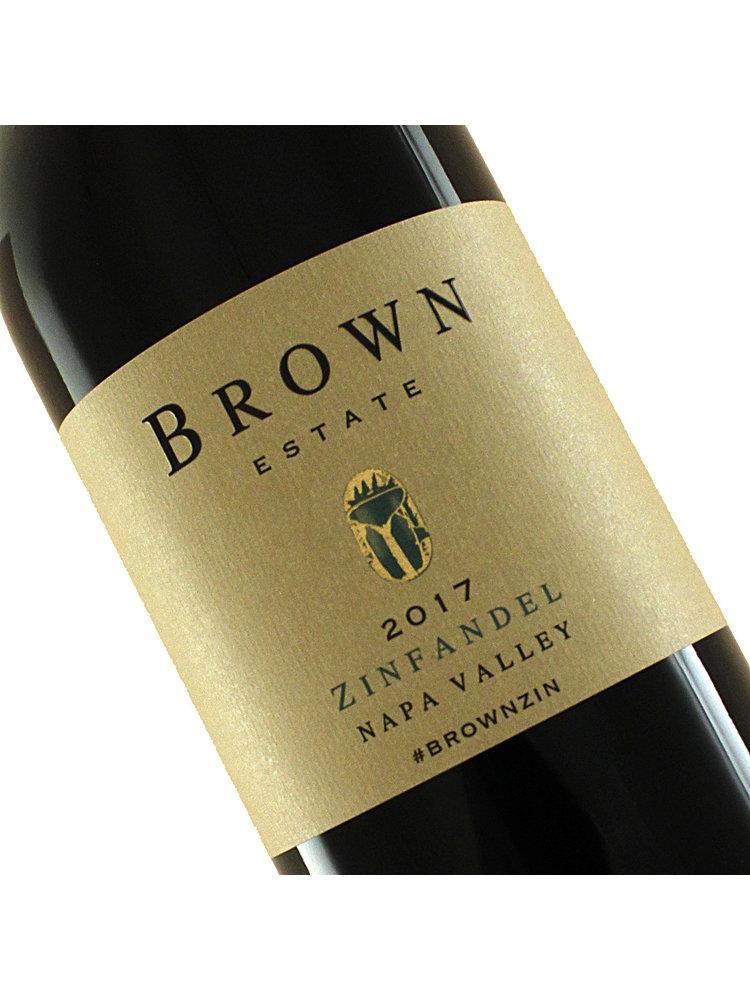 Brown Estate 2018 Zinfandel, Napa Valley