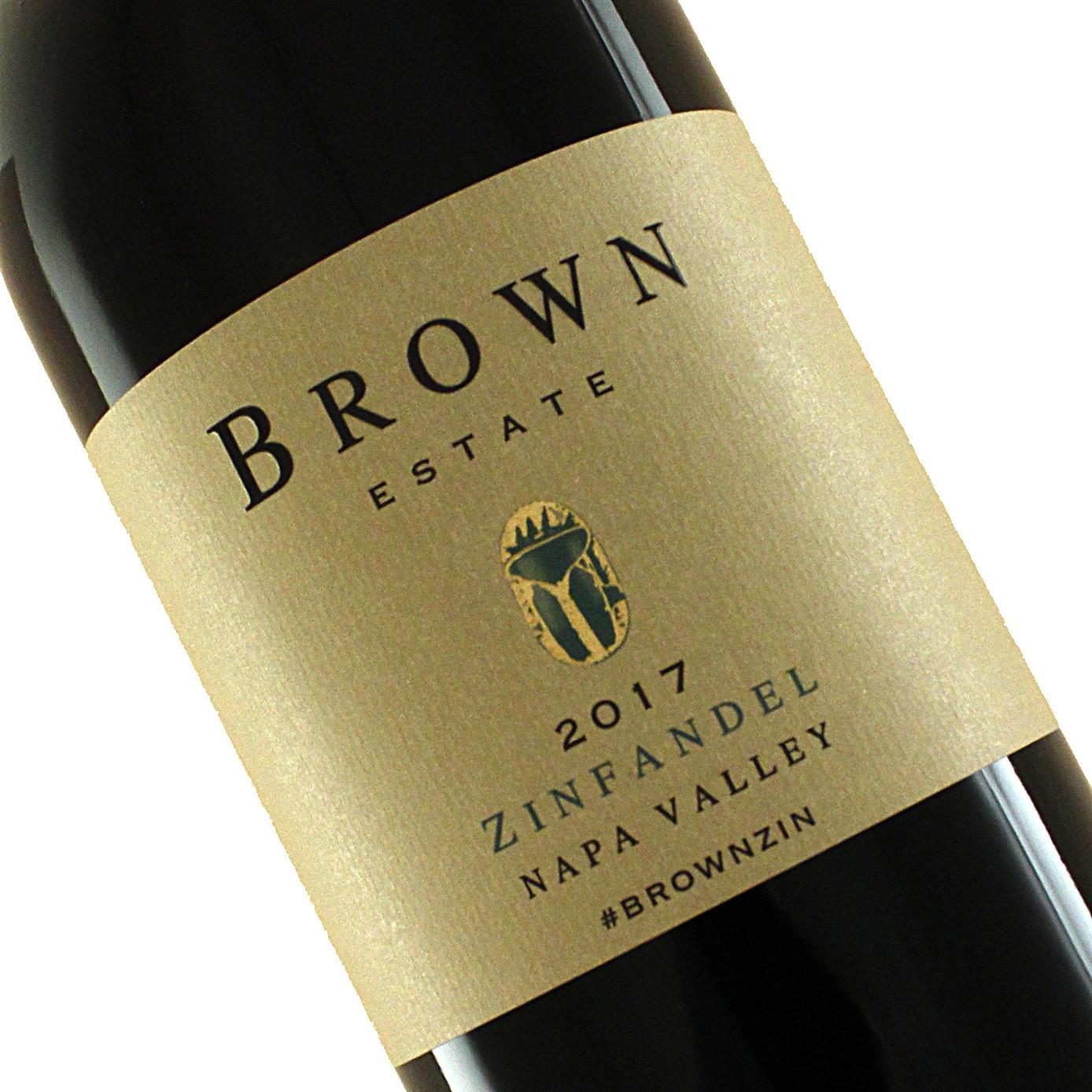 Brown Estate 2017 Zinfandel, Napa Valley