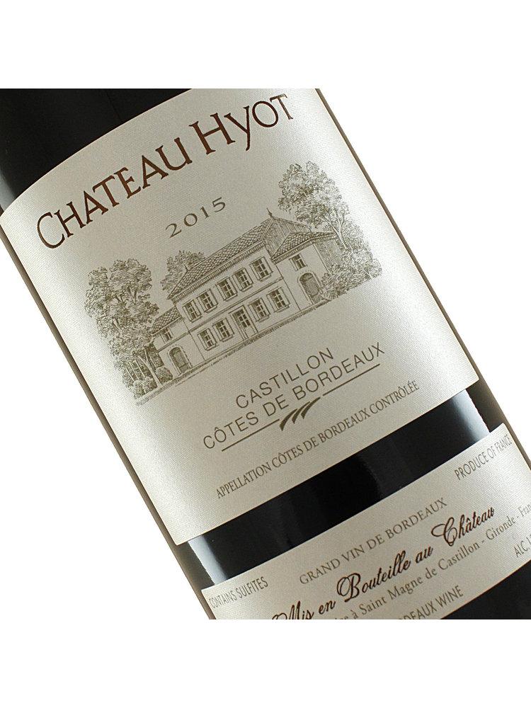 Chateau Hyot 2018 Castillon Cotes De Bordeaux