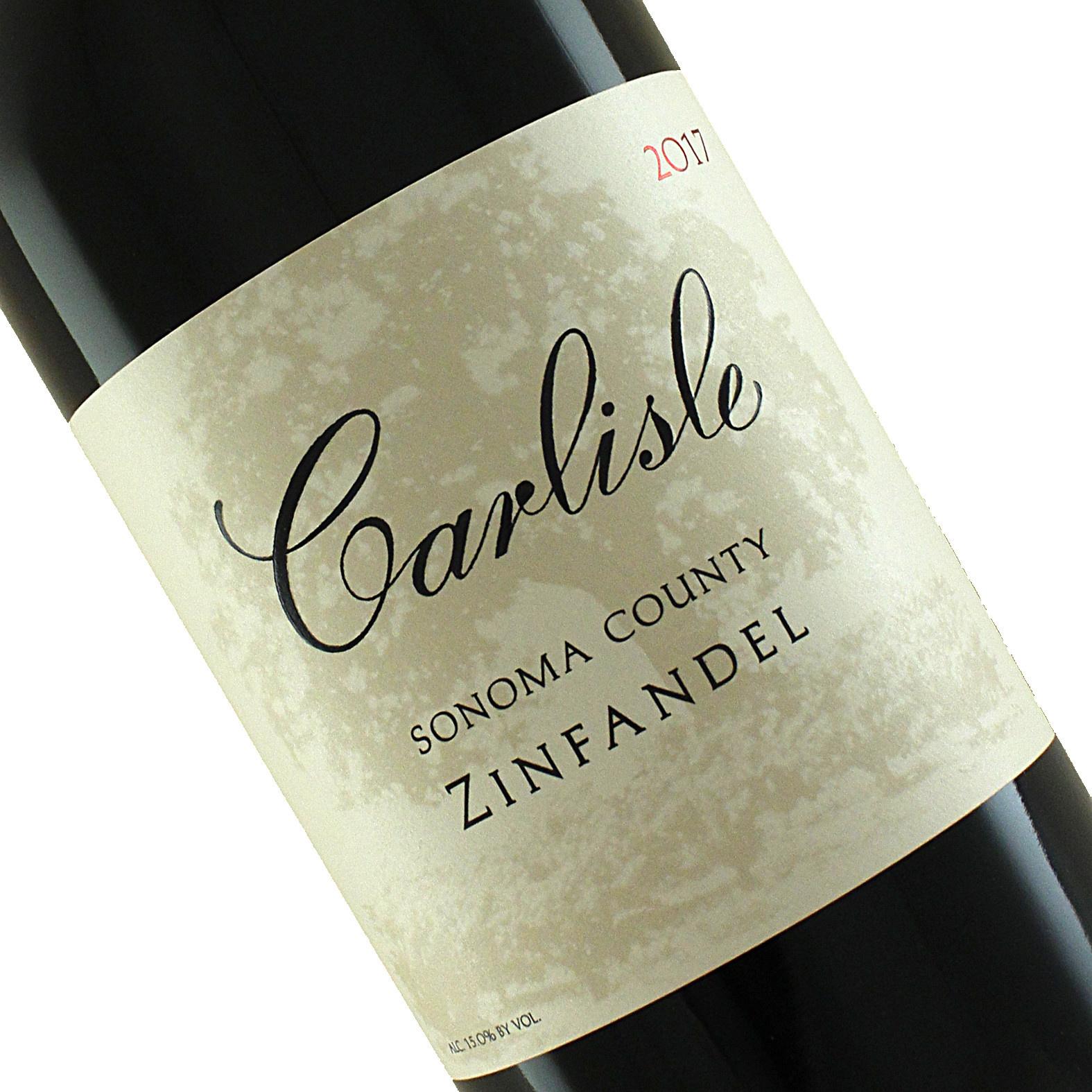 Carlisle 2017 Zinfandel, Sonoma County