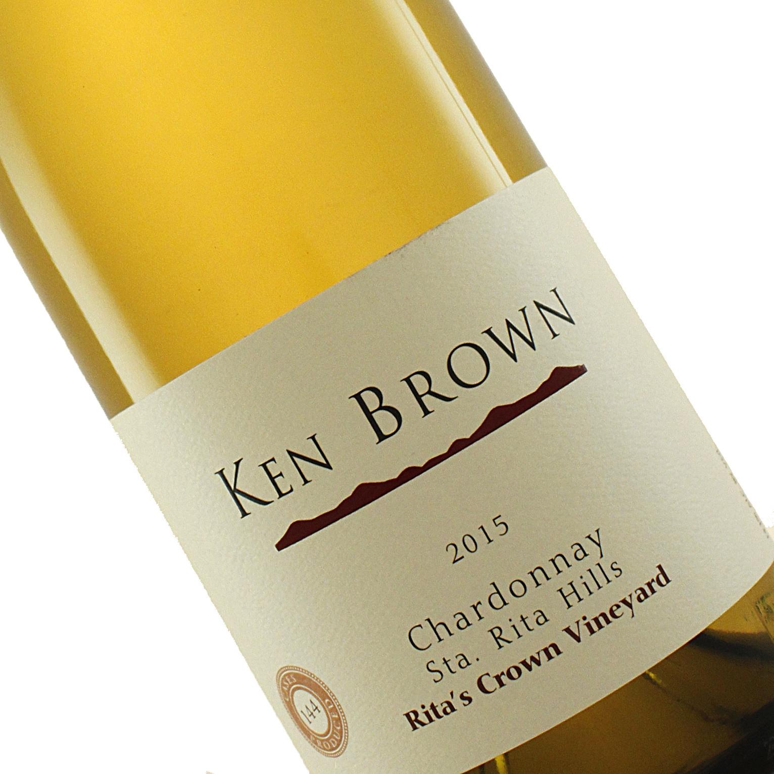 Ken Brown 2015 Chardonnay Rita's Crown Vineyard, Sta. Rita Hills