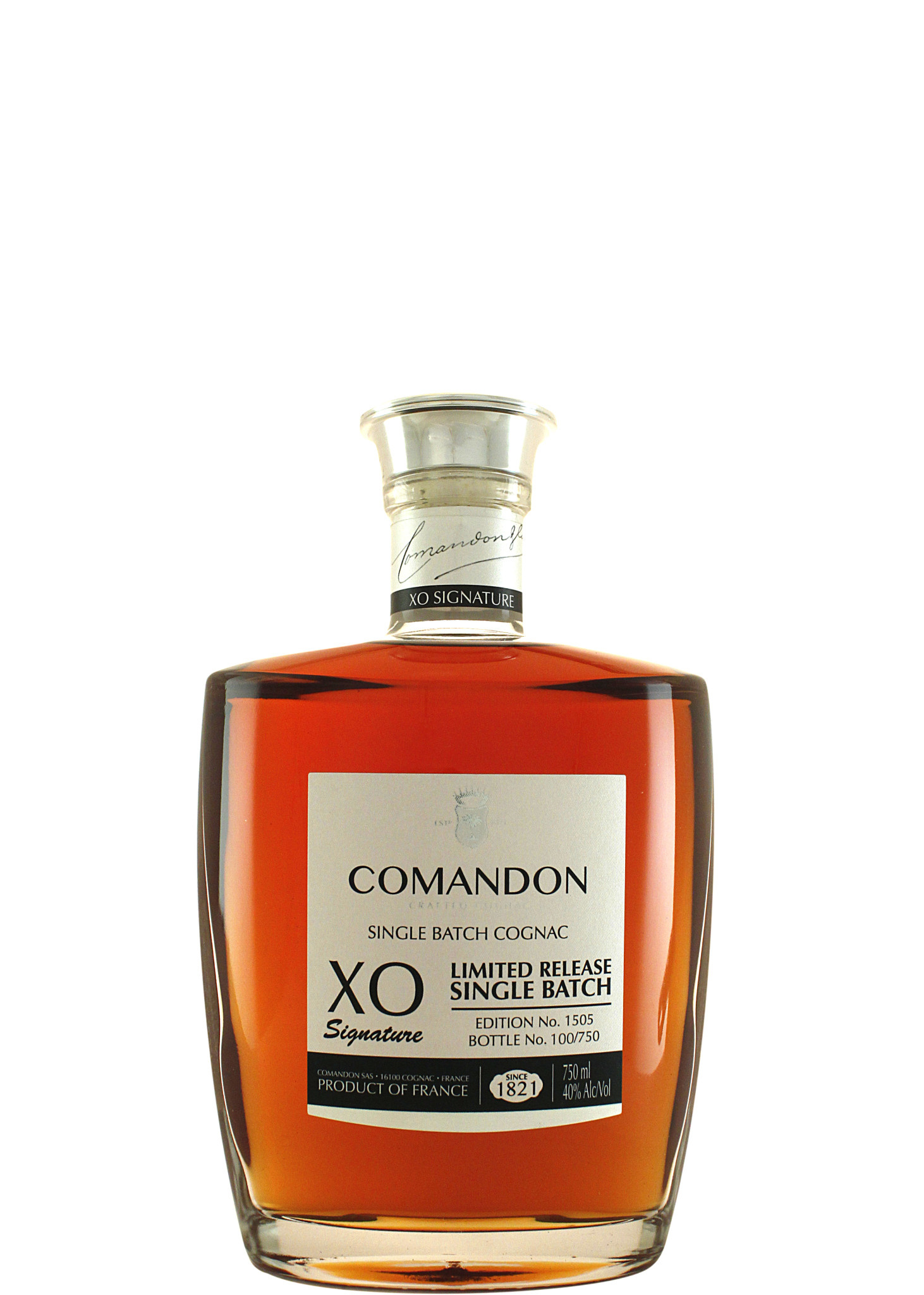 Comandon Cognac XO Signature Limited Release Single Batch