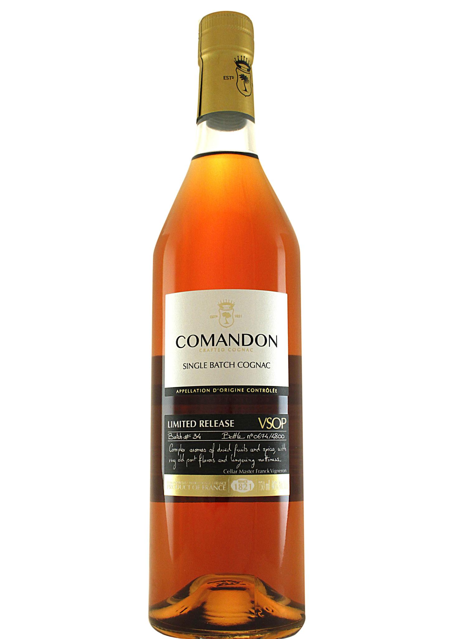 Comandon Single Barrel Cognac VSOP