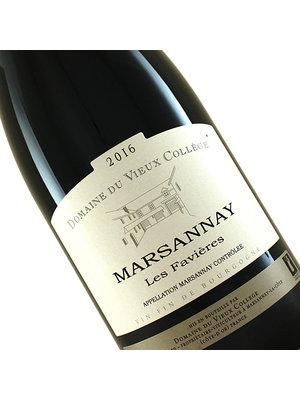 """Domaine du Vieux College 2016 Marsannay """"Les Favieres"""" , Burgundy"""