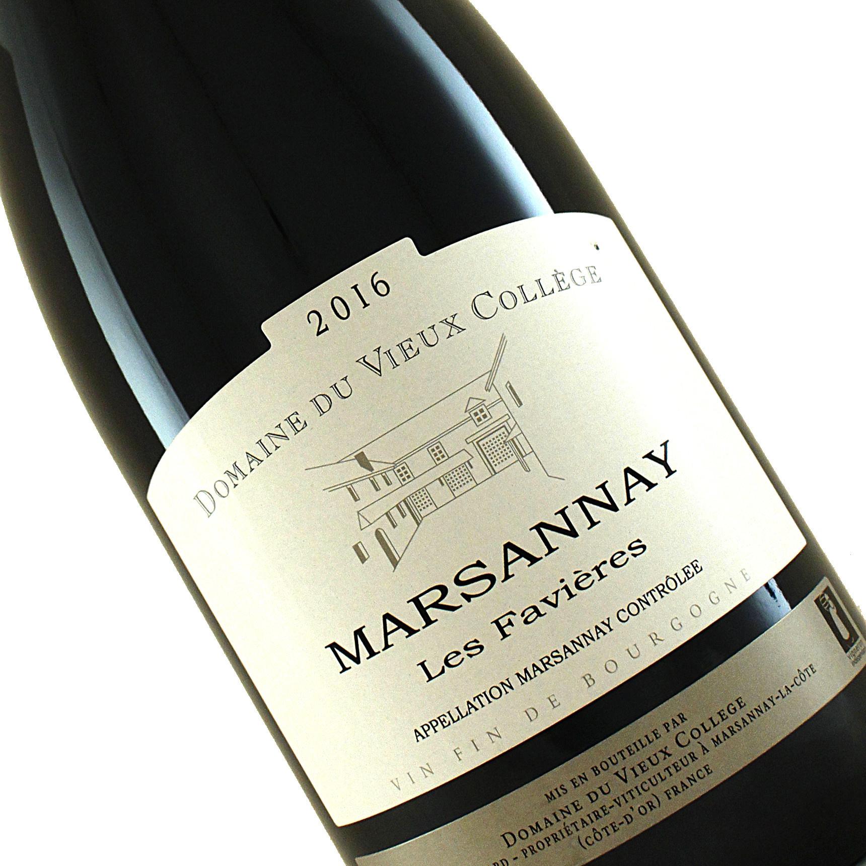 Domaine du Vieux College 2016 Les Favieres Marsannay,