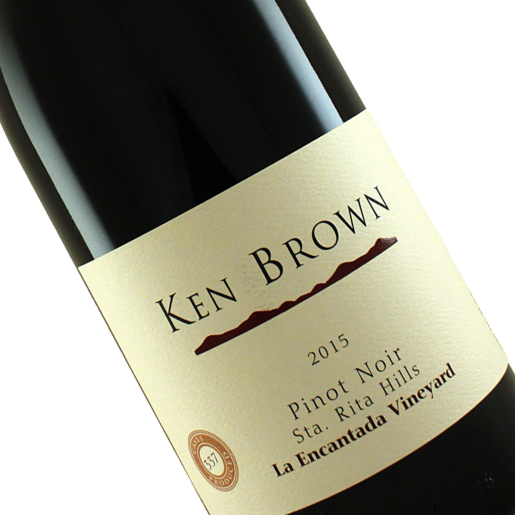 Ken Brown 2015 Pinot Noir La Encantada Vineyard, Sta. Rita Hills