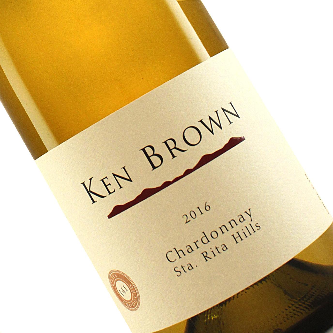 Ken Brown 2016 Chardonnay Sta. Rita Hills