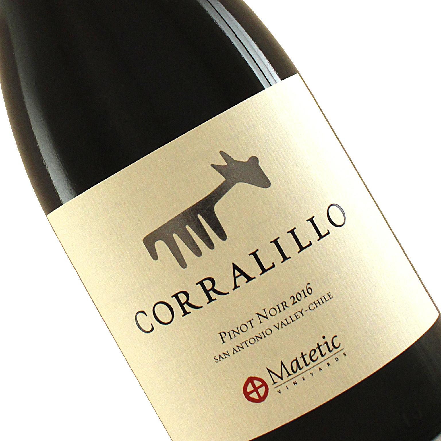 "Matetic 2016 Pinot Noir ""Corralillo"" Organic San Antonio Valley - Chile"