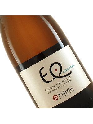 """Matetic 2019 Sauvignon Blanc """"EQ Coastal"""" Casablanca Valley, Chile"""