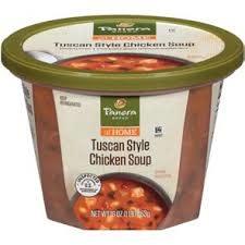 Panera Bread Tuscan Style Chicken Soup 16oz.