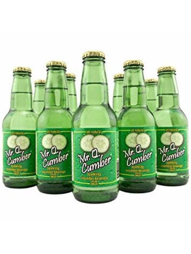 Mr. Q. Cumber Sparkling Cucumber Beverage 7oz.