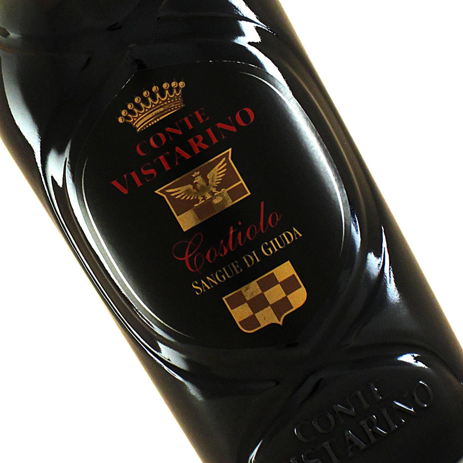 Conte Vistarino 2017 Costiolo Sangue di Giuda Dell'Oltrepo Pavese, Sweet Red Sparkling Wine,