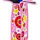 Cool Sack Neoprene Single Bottle Wine Tote Pink Flowers