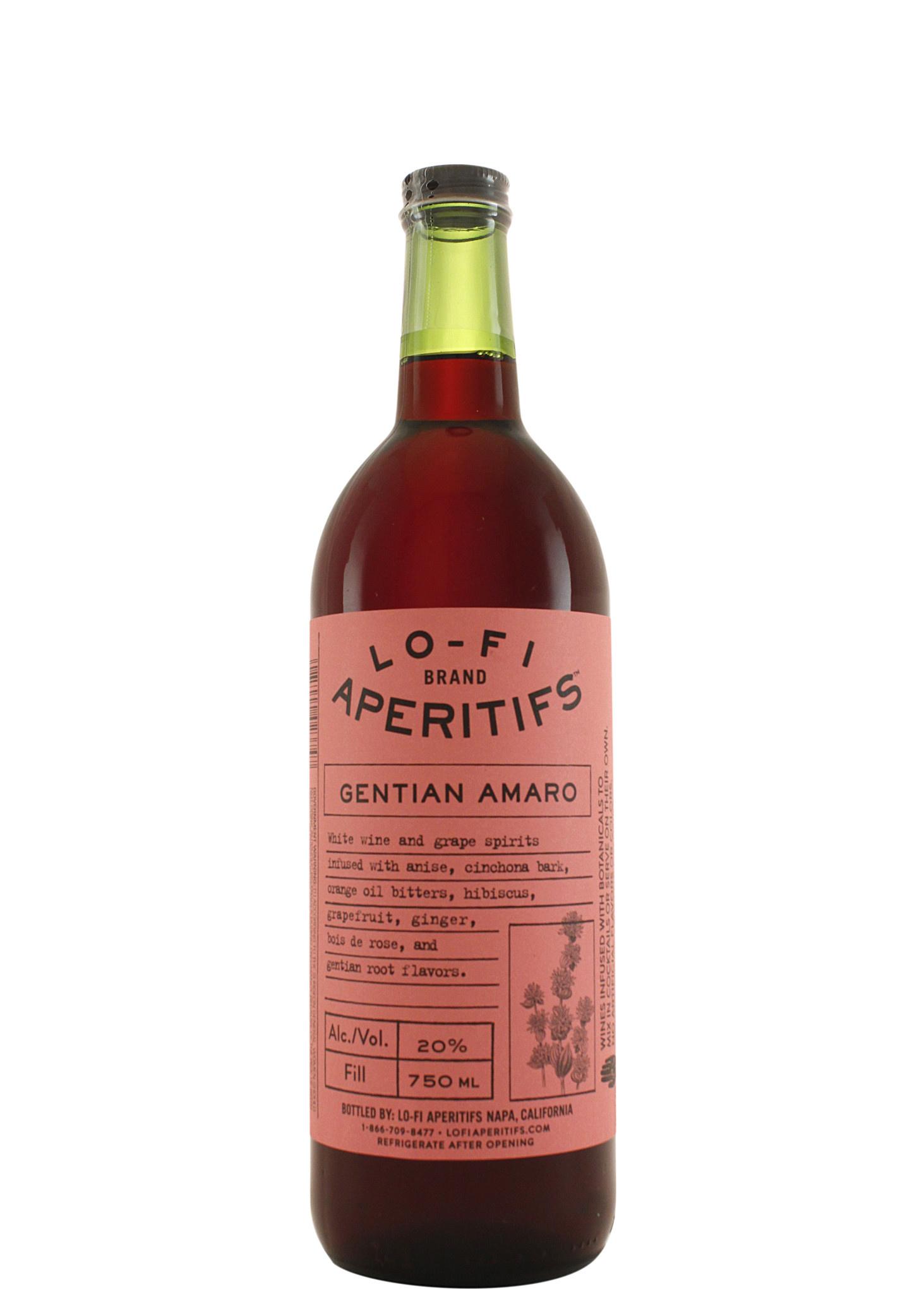 Lo-Fi Aperitifs Gentian Amaro Napa, California
