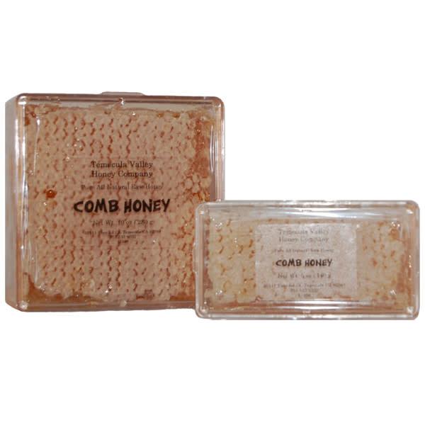 Temecula Valley Honey Company Comb Honey, Temecula California