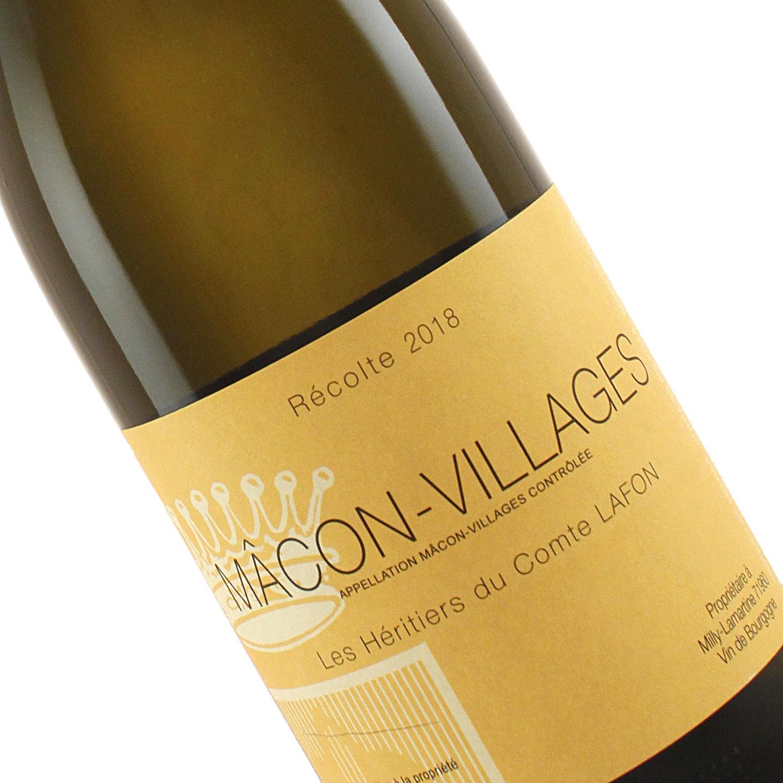 Les Heritiers du Comte Lafon 2018 Macon-Villages, Burgundy