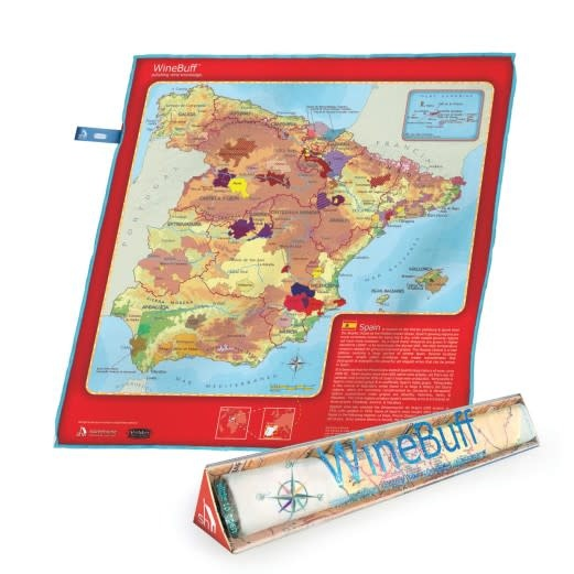 Wine Buff Microfiber Towel - Spain