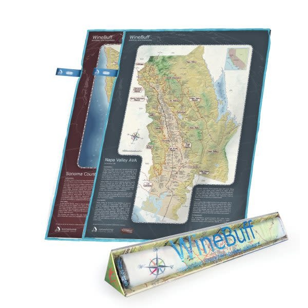 Wine Buff Microfiber Towel - Napa & Sonoma