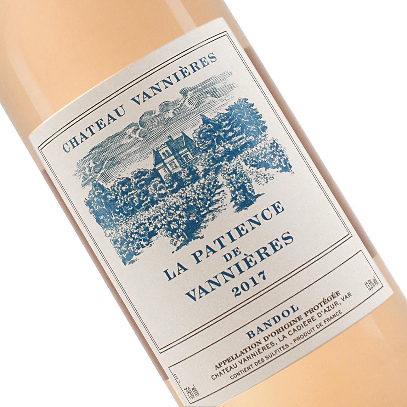 "Chateau Vannieres 2017 ""La Patience De Vannieres""  Bandol Rose, Provence"