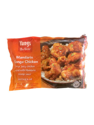 Yangs 5th Taste Mandarin Orange Chicken 22 oz, USA