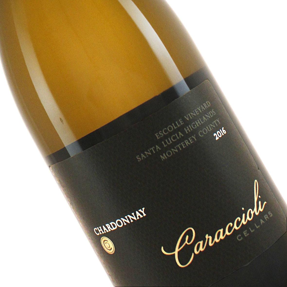 Caraccioli Cellars 2016 Chardonnay Santa Lucia Highlands, Monterey County