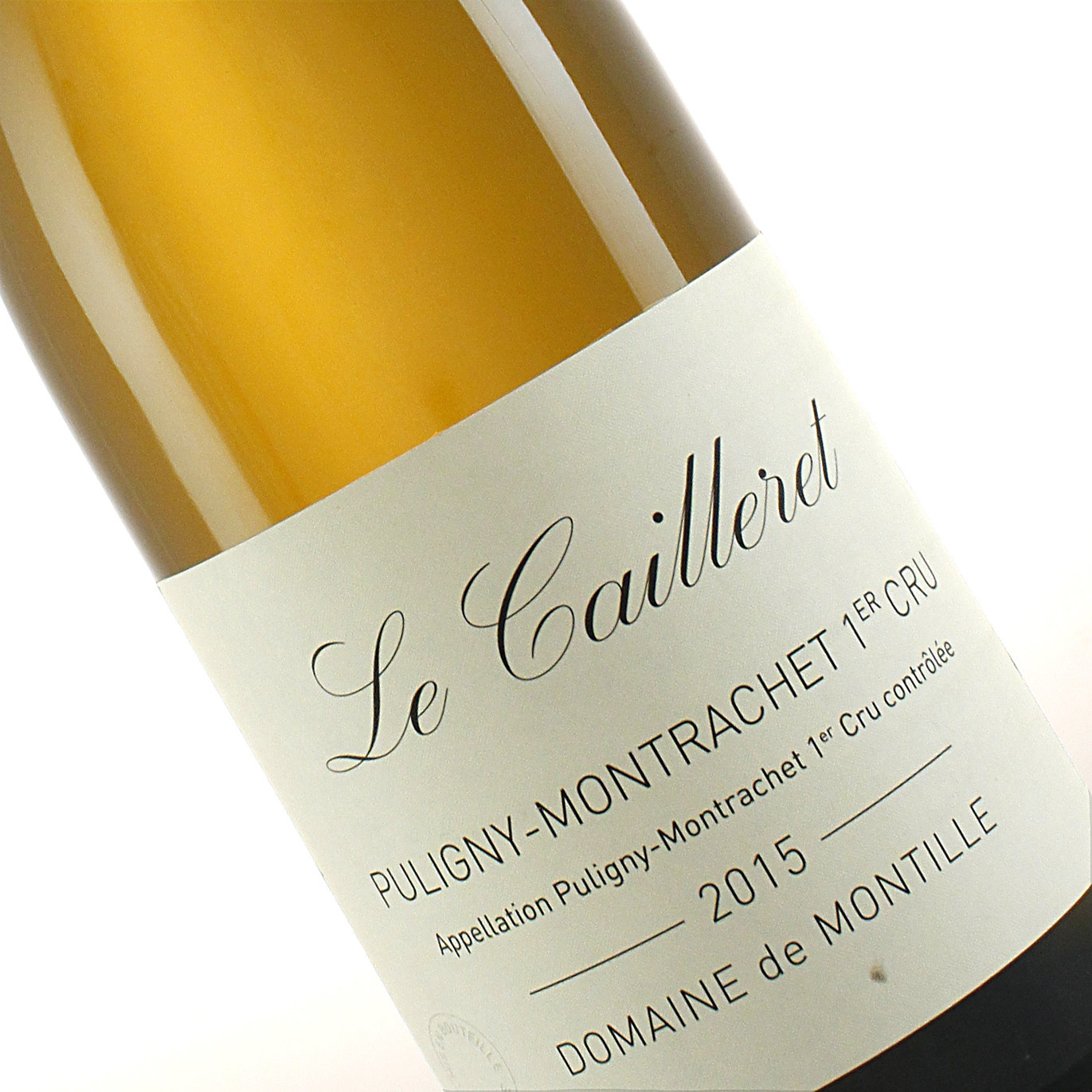 """Domaine de Montille 2015 Puligny-Montrachet Premier Cru """"Le Cailleret"""", Burgundy"""