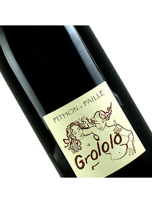 """Pithon-Paille 2019  """"Grololo"""" Red Wine, Loire Valley"""