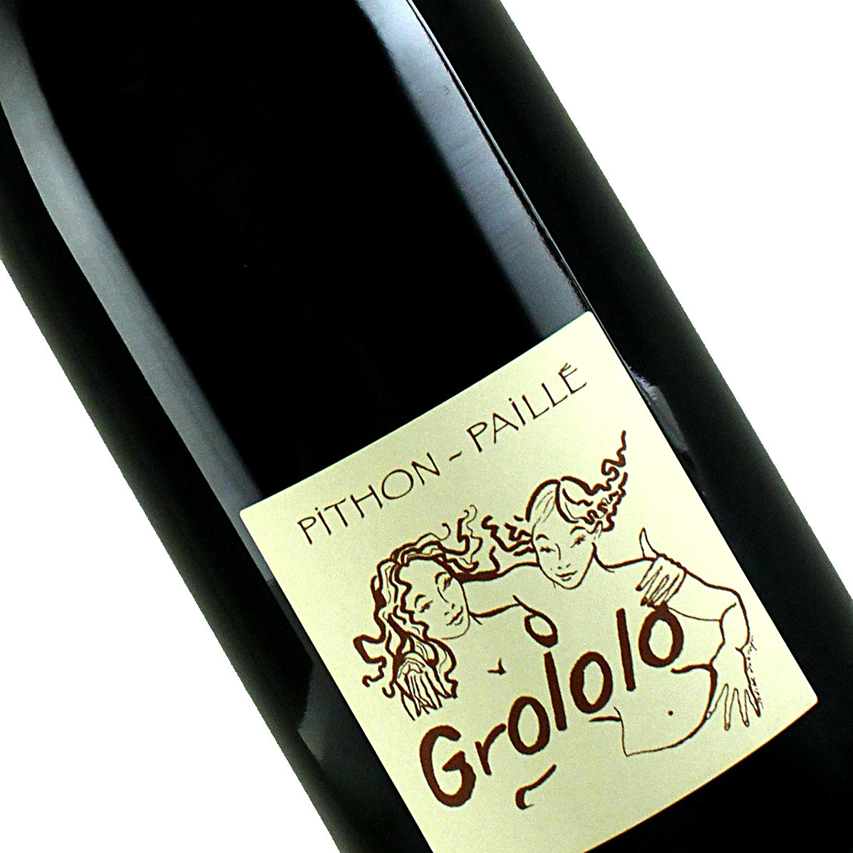 "Pithon-Paille 2019  ""Grololo"" Red Wine, Loire Valley"